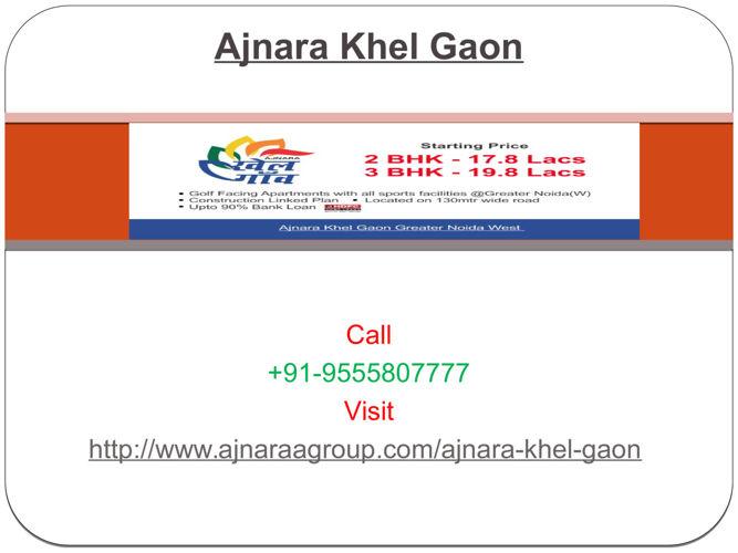 Ajnara Khel Gaon Spectacular House