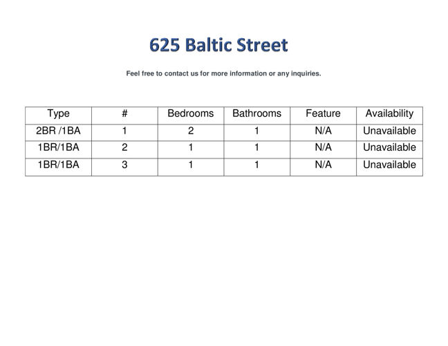 625 Baltic