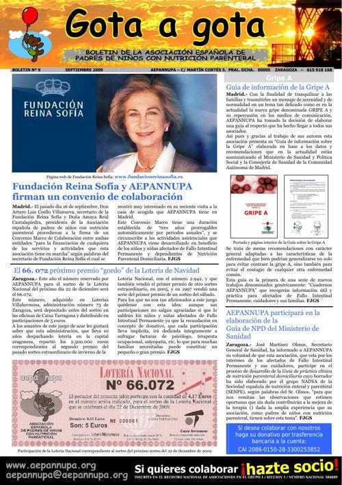 Boletín 9 Septiembre 2009