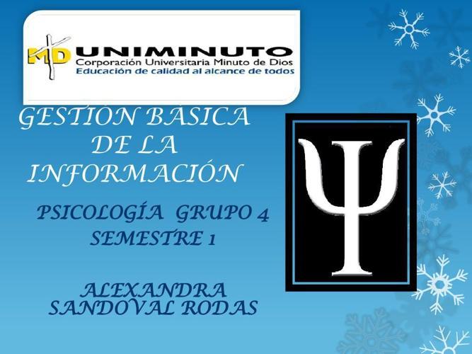 PSICOLOGIA SOCIAL ALEXANDRA SANDOVAL RODAS