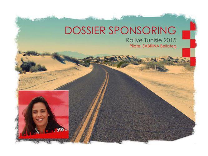 Dossier Sabrina Bellateg Rallye Tunisie 2015