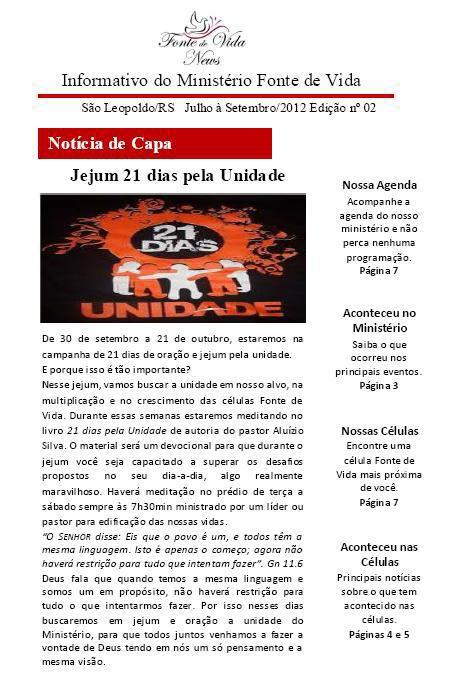 Informativo Julho/2012