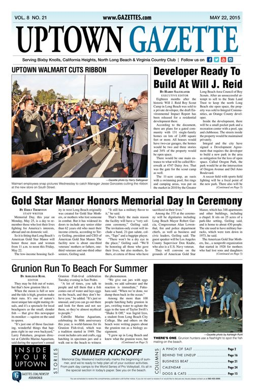 Uptown Gazette  |  May 22, 2015