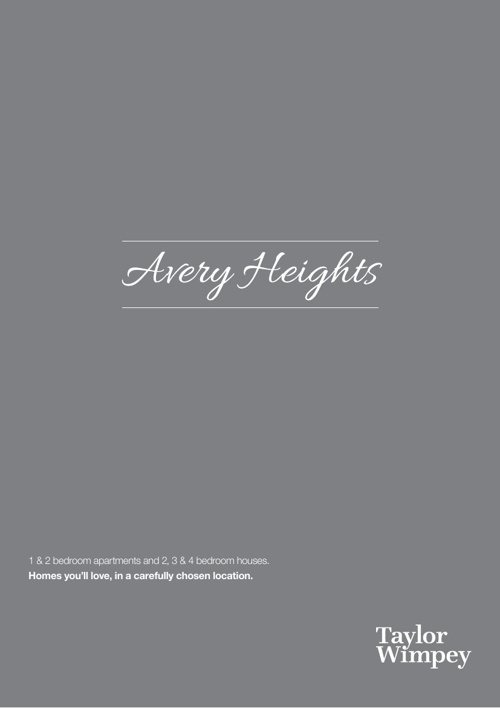 Avery Heights Online Brochure