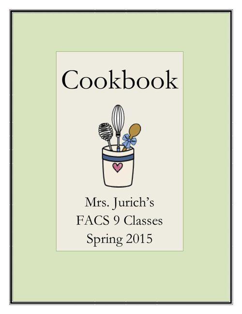 CookbookSpring2015