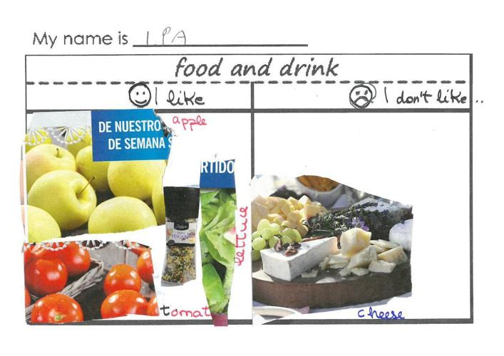 FOOD 1st GRADE A. CEP CELSO EMILIO FERREIRO VIGO