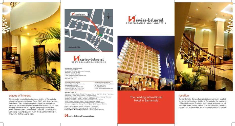 Swiss-Belhotel Borneo Samarinda (Flyer)