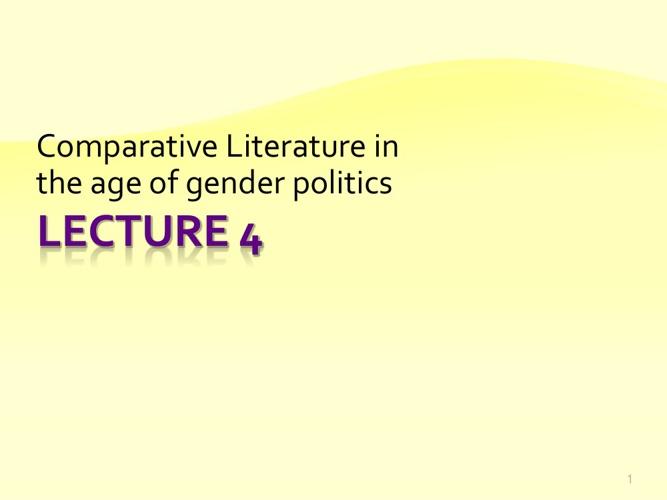 CL and gender politics