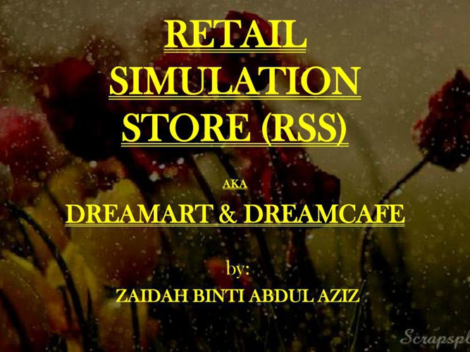 RETAIL SIMULATION STORE - ORGANIZATIONAL CHART