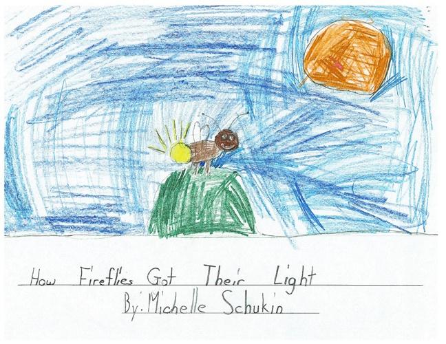 Michelle's Legend: How Fireflies Got Their Light