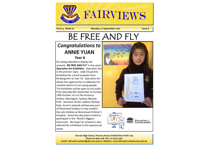 Fairviews - Term 3 Week 10 - 2012