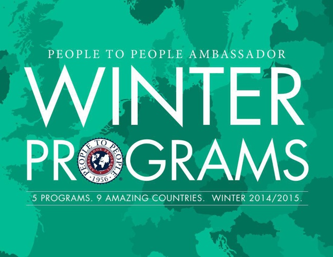Student Ambassador Winter Programs 2014/2015