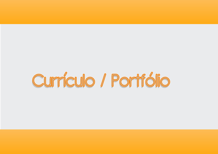 Currículo e Mini Portfólio
