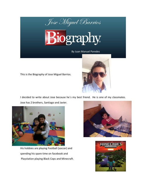Biografia Jose
