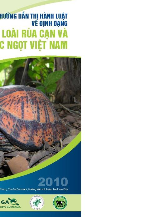 Kiến thức về Rùa ở Việt Nam