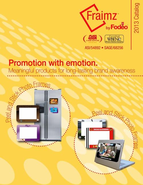 Fraimz 2013 Catalog