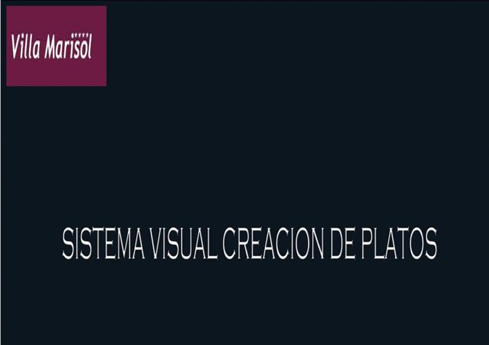 SISTEMA VISUAL PARA CREAR PLATOS