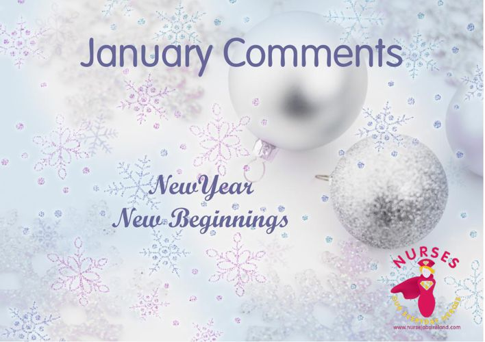 January & February Comments of Thanks for Nurses
