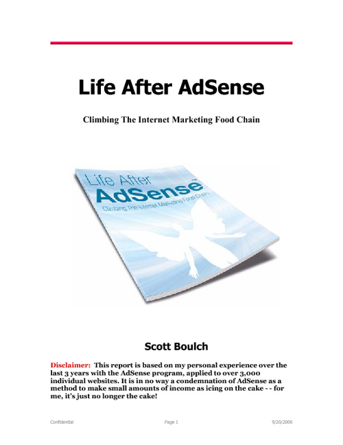 Life After AdSense