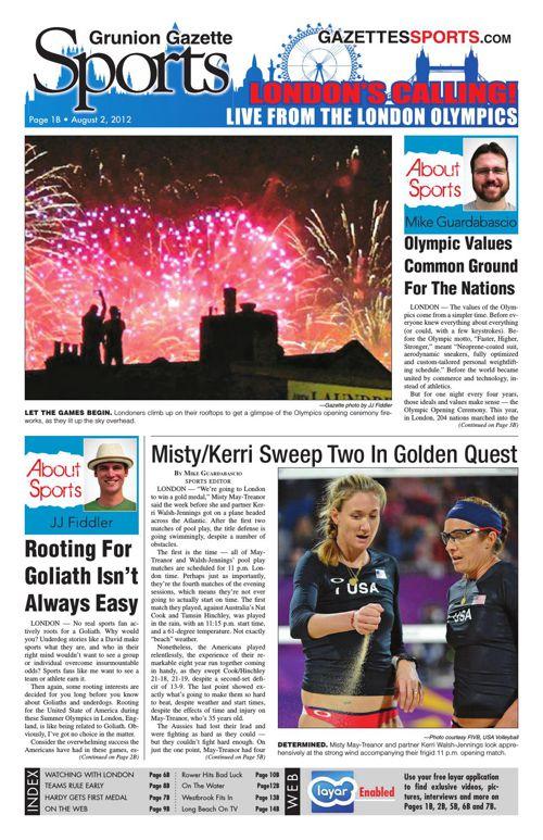 Gazette Sports | August 2, 2012