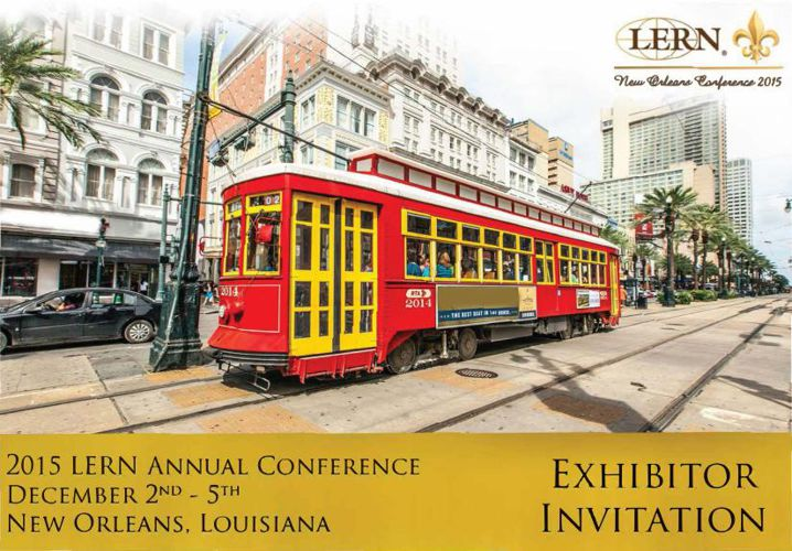 2015 LERN Exhibitor Digital Invitation