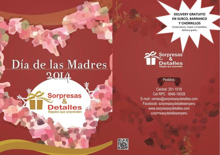 Catálogo Día de las Madres