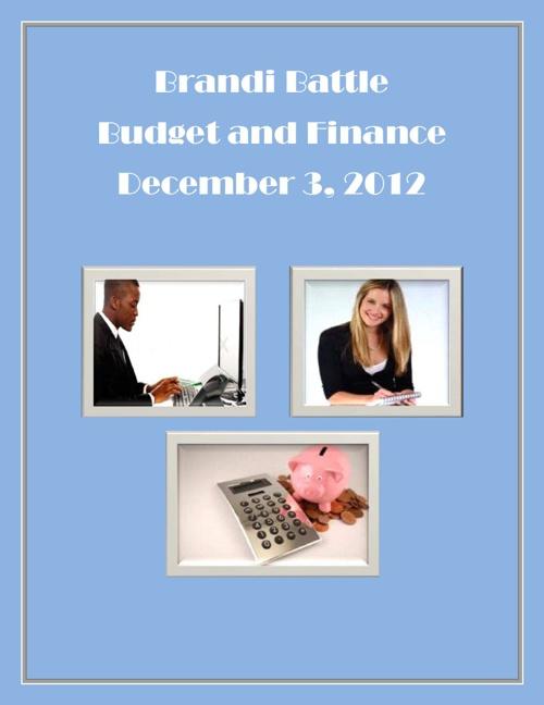 Brandi Battle Budget and Finance