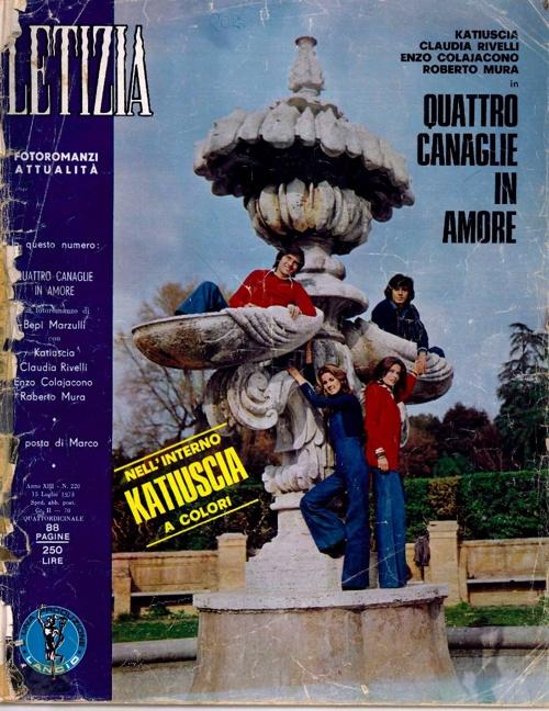LETIZIA N. 220 (1973) - QUATTRO CANAGLIE IN AMORE-2