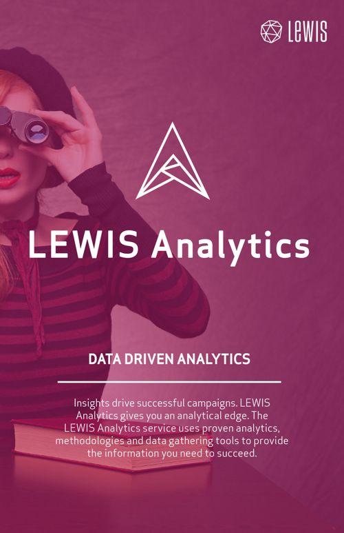 LEWIS Analytics Brochure