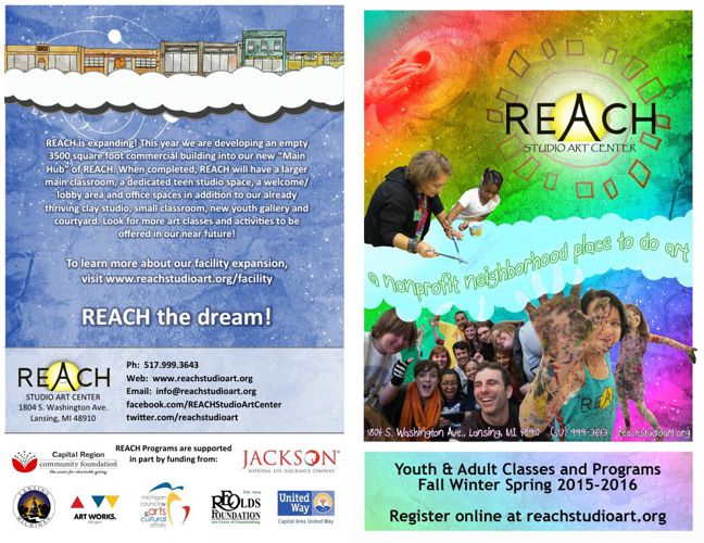 REACH Studio Art Center 2015-16 Program Catalog