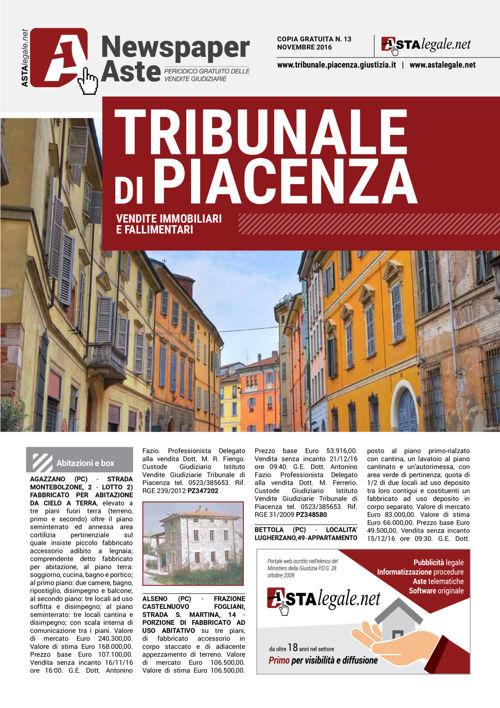 Piacenza novembre 2016