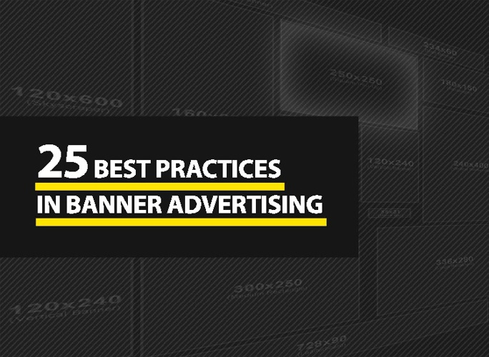 25 practices in banner advertising