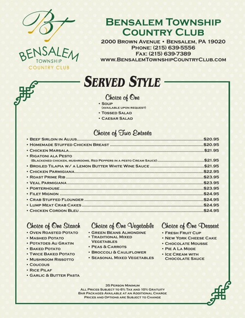The Best Place For Brunch Philadelphia Bensalem Township Country