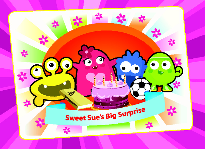 Sweet Sue's Big Surprise