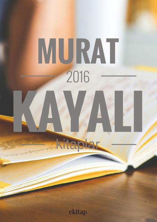 2016 Kitaplar MURAT KAYALI