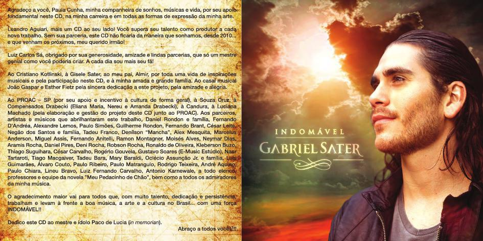 Gabriel Sater - Indomável