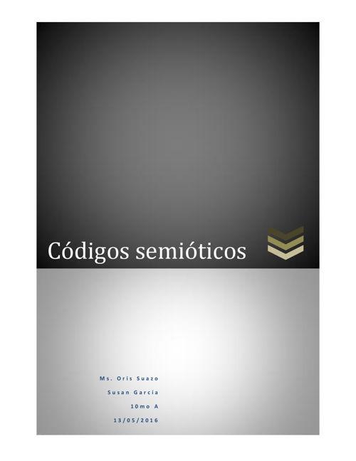 codigos semioticos