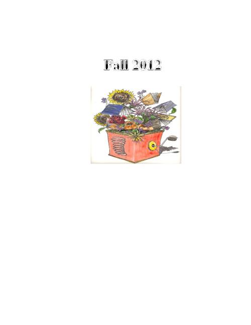 Fall 2012 Anthology