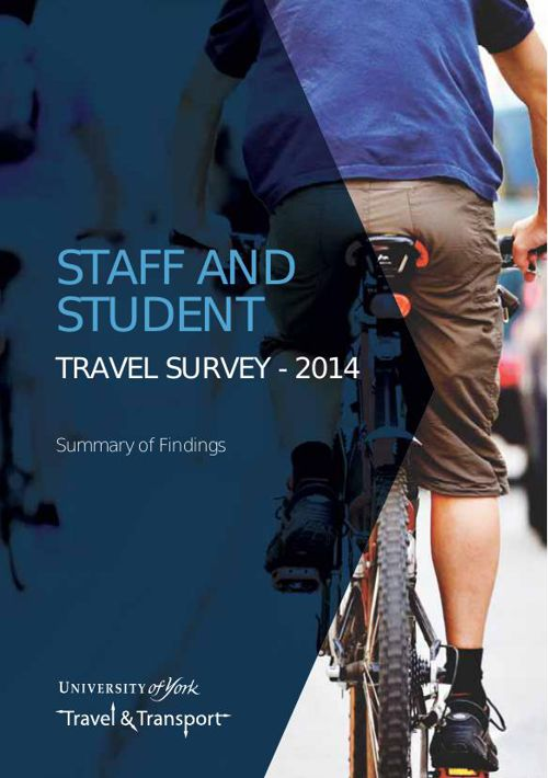 University of York Travel Survey Report 2015