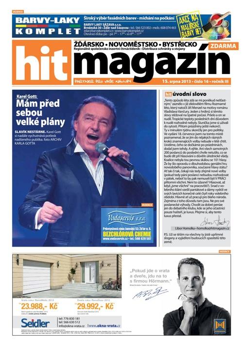 Hit magazín č.16 2013