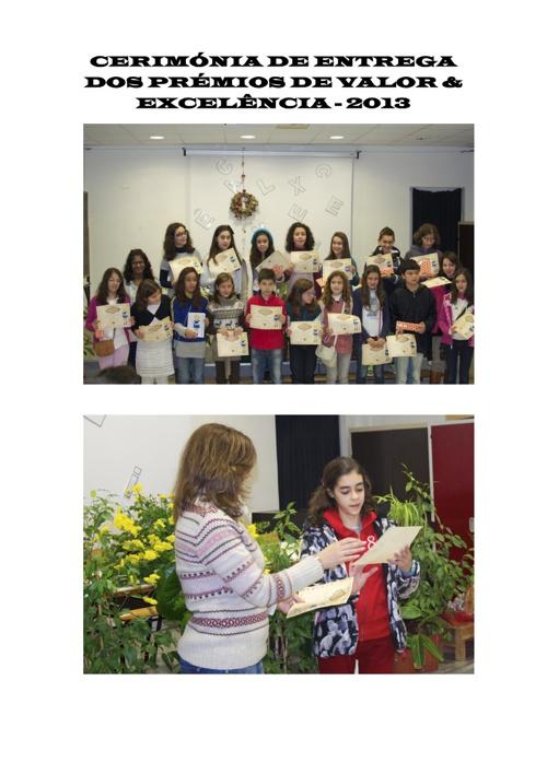 Cerimónia Quadro Valor & Excelência - 2012
