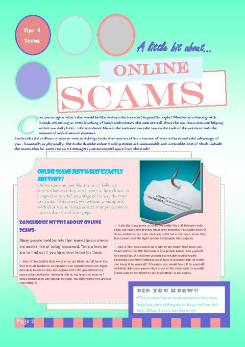 Scams Magazine