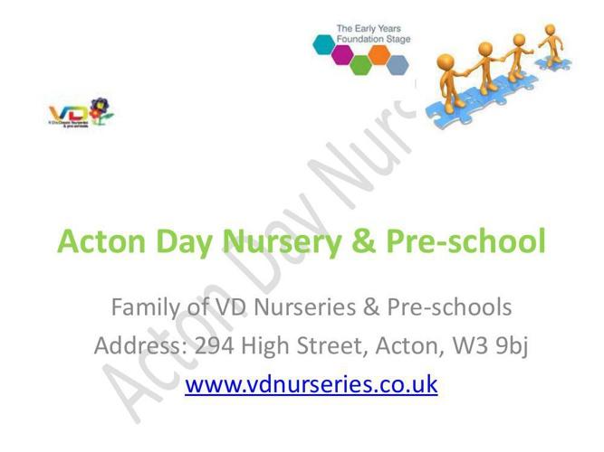 Acton Day Nursery & Pre-school - prospectus (1)