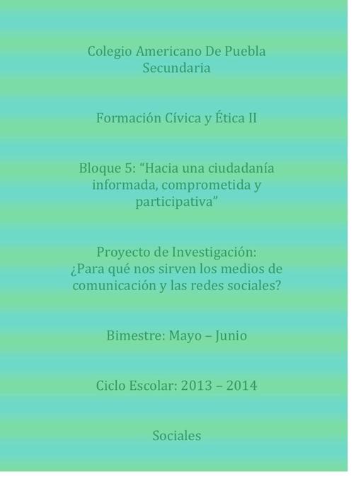 Copy of Proyecto de Investigacion: Michael Clifford