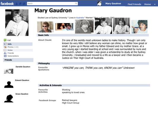 Caitlin's mary gaudron fakebook (1)