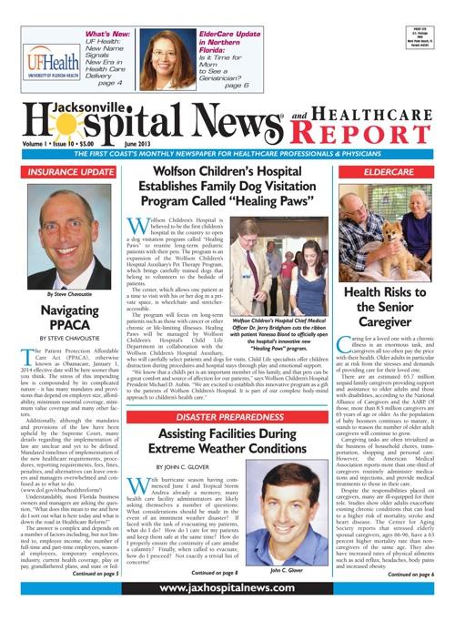 Jacksonville Hospital News - June 2013