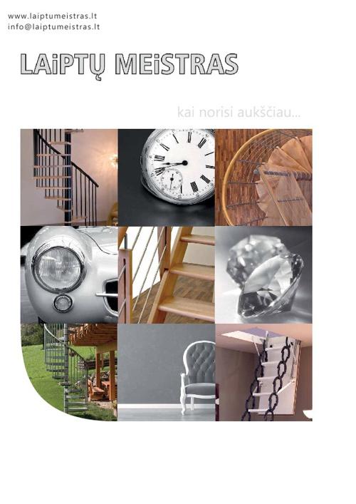 Laiptu Meistras katalogas 2012
