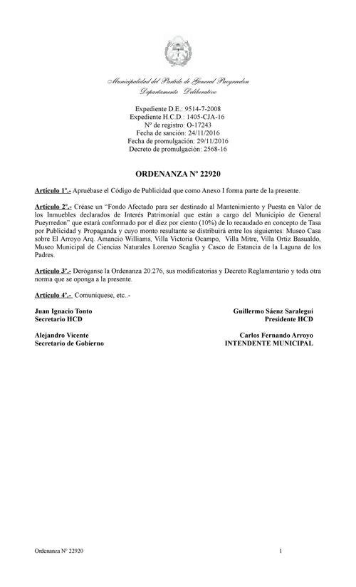 CODIGO DE PUBLICIDAD