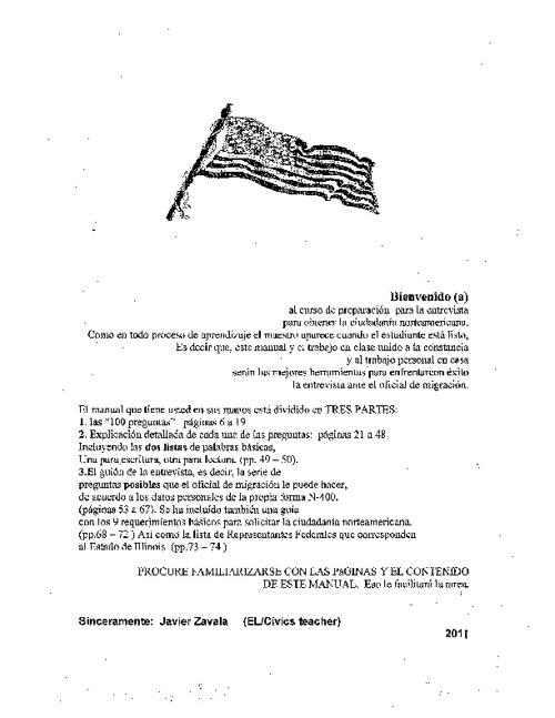Manual de Ciudadanía Norteamericana _ Primera Parte