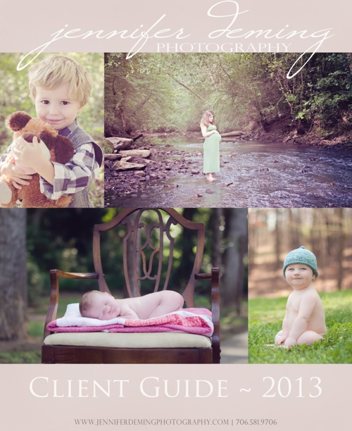 Jennifer Deming Photography Client Guide 2013